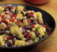 Roasted Corn, Black Bean and Mango Salad | Summer Recipes | Parents Connect