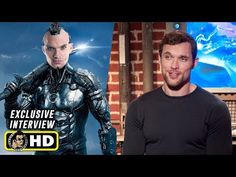 Ed Skrein Interview for Alita Battle Angel Latest Movie Trailers, Book Trailers, All Movies, Latest Movies, Comic Book Superheroes, Comic Books, Keean Johnson, Jackie Earle Haley, Female Cyborg
