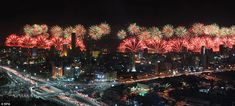 Kuwait's Golden Jubilee Fireworks Enters Guinness World Records Beautiful Streets, Most Beautiful Cities, Nature Pictures, Cool Pictures, Kuwait National Day, Big Fireworks, Constitution Day, Guinness World, Guinness Book