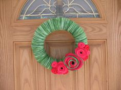 Summer Watermelon Wreath  #RusticOwlDecor