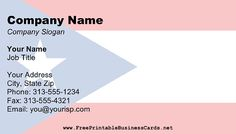 This printable business card features the flag of the american state this printable business card features the flag of the american commonwealth of puerto rico free reheart Images