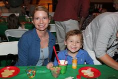 Cookie time at the Greenbrier Golf & Country Club Santa Party!