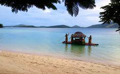 Turtle Island's bridal 'limo'.