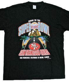 Vintage 1995 San Francisco Forty Niners 49ers Super Bowl XXIX Shirt Made in  USA Mens Size Large ae0c13075