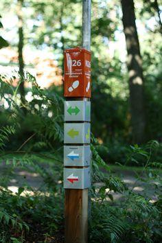 trail marker, Ommen, Netherlands