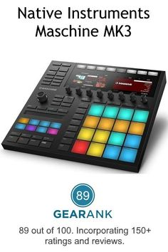 Here are the ✅ best MIDI pad controllers ✅ as determined by their Gearank ratings based on analysis of over sources - also includes helpful buying tips. Music Gadgets, Tech Gadgets, Midi Keyboard, Dj Setup, Recording Studio Home, Audio Engineer, Native Instruments, Recording Equipment, Music Gifts