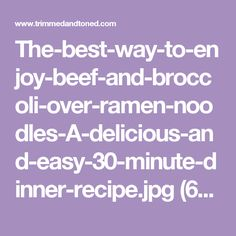 The-best-way-to-enjoy-beef-and-broccoli-over-ramen-noodles-A-delicious-and-easy-30-minute-dinner-recipe.jpg (600×900)