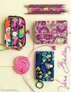 Check out the @Vera Bradley fall collection for all of your back to school needs!