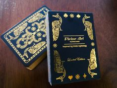 DIVINE ART PLAYING CARDS - GILDED Edition. 500 were printed by MPC.
