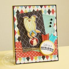 TSG Blog Hop Challenge - Life Is A Circus, created by Torico