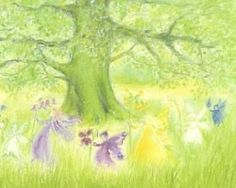 Marjan van Zeyl - Feentanz mit Frühlingsblumen