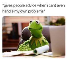 Funny Kermit Memes, Really Funny Memes, Stupid Funny Memes, Funny Tweets, Funny Laugh, Funny Relatable Memes, Funny Humor, Funny Stuff, Extremely Funny Jokes