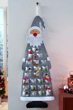 Christmas Sewing, Christmas Fabric, Primitive Christmas, Christmas Art, Christmas Projects, Holiday Crafts, Christmas Ornaments, Advent Calenders, Diy Advent Calendar