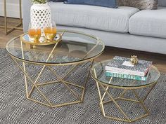 15 Brass Coffee Tables You'll Love - Cool Things to Buy 247 Coffee Tables For Sale, Coffee Table Rectangle, Brass Coffee Table, Coffee Table Styling, Glass Top Coffee Table, Glass Table, Stainless Table, Stainless Steel Furniture, Table Decor Living Room