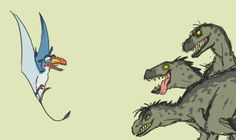 The Lion King as dinosaurs