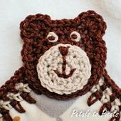 Ravelry: Bear Lovey pattern by Kara Gunza