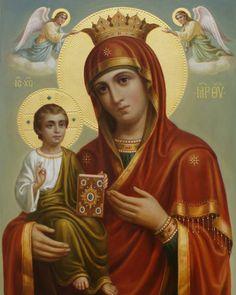 Богородица, иконописец Дмитрий Хомяков