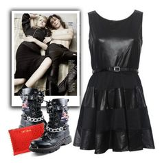 """Punk Prom"" by adduncan ❤ liked on Polyvore featuring Prom and Punk"