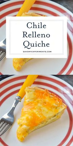 Chile Relleno Quiche is the perfect brunch recipe! It's loaded with flavor from hatch chiles, two kinds of cheese, and spices!savoryexper Source by savorycooking Quiche Recipes, Brunch Recipes, Gourmet Recipes, Mexican Food Recipes, Cooking Recipes, Dinner Recipes, Chili Recipes, Crockpot Recipes, Breakfast Quiche