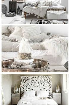 Home Bedroom Bed sheet Boho-chic Bohemianism White Bedding Furniture Bohemian Bedroom Design, Bohemian Decor, Bedroom Designs, Boho Chic, Bedroom Bed, Bed Room, White Bedding, Bed Furniture, Interior Design Services