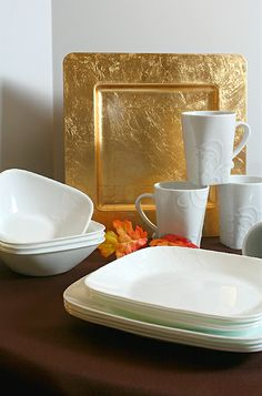 @Corelle Dining Boutique Cherish Dinnerware Review and Giveaway in the #HolidayProgressiveDinner Blog Hop #sponsored