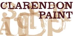Clarendon Paint Font Download #font#fonts#typography#lettering