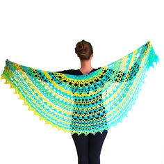 Ravelry: Summer in a Shawl pattern by Elena Madsen