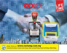 Order COLOP STAMP Online at http://www.ezstamp.com.my/categories/Colop-Self%252dInking-Stamp/