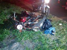 Motociclista morre ao colidir com micro-ônibus em rodovia de MS