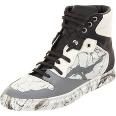 Balenciaga Marbled Multimatieres High Top