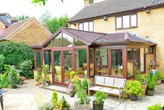 Our single storey extension option is a modern, lightweight product that brings all the benefits of a single storey extension but is clean and quick to install, using factory engineered products making the installation on site smooth and hassle free. Conservatory Extension, Roof Extension, Extension Ideas, Extension Google, Carpet Fitters, Single Storey Extension, Two Storey House, Roofing Systems, Screened In Porch