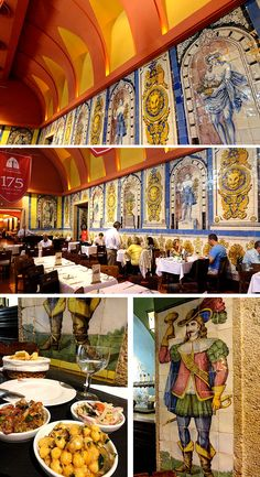 Cervejaria Trindade Onde comer bem e barato Lisboa Portugal