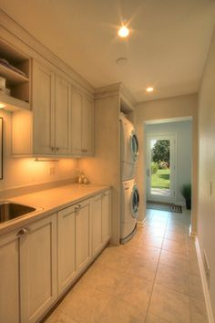Young kitchen - traditional - laundry room - dc metro - Anthony Wilder Design/Build, Inc.
