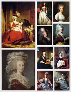 Magic Moonlight Free Images: Marie Antoinette Collages!