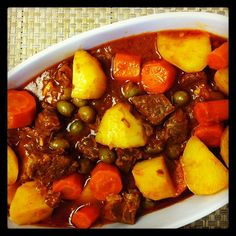 Learn how to cook beef caldereta @ http://www.ffemagazine.com/how-to-make-caldereta