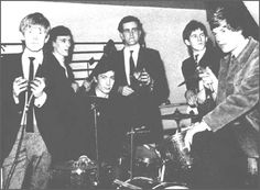 The Rolling Stones at The Marquee club, January 17h 1963.  http://www.themarqueeclub.net