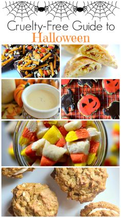 Cruelty Free Guide to Halloween - Featuring lots of vegan Halloween recipes, tips on picking out vegan Halloween candy, and more! Click here for cruelty-free Halloween tips!