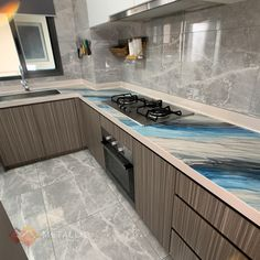 Kitchen Countertop Transformation Epoxy Countertop, Kitchen Countertops, Countertop Transformations, Epoxy Coating, Black Marble, Metallic, Design Ideas, Flooring, Interior