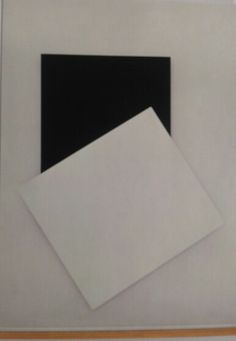 Ellsworth Kelly. White Relief with Black III, 1993