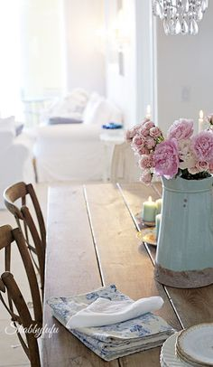 Welcoming Spring To The Beach House