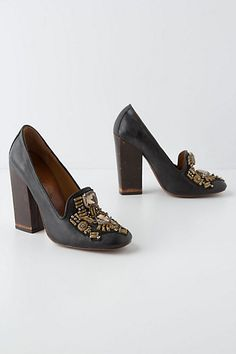 Hofburg Loafer Pumps #anthropologie