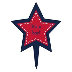 Shop Star Baby Boy Cake Topper created by PoshPartyPrints. Baby Boy Cake Topper, Baby Boy Cakes, Cakes For Boys, Personalized Cake Toppers, Nautical Baby, Cupcake Toppers, Baby Photos, Clip Art, Baby Shower