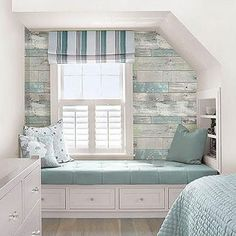 Beachwood Peel And Stick Wallpaper - Wall Sticker Outlet