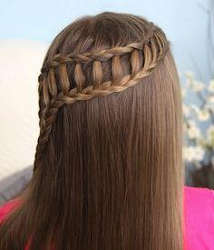 29 Peinados Con Trenzas ♡Cascada Mujeres 16 Ideas y paso a paso para trenza cascada doble