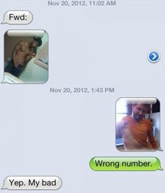 Wrong number..