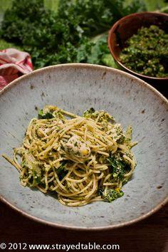 Kale & Coriander Pesto with Chicken Pasta