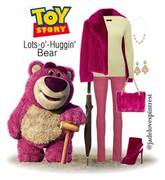 """""""Lots-o'-Huggin' Bear Style"""" by jadelovespintrest ❤ liked on Polyvore featuring Dries Van Noten, Freeman T. Porter, M&Co, Betsey Johnson, Chanel and Mixit"""