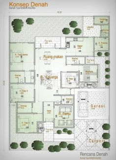 New House Projects Architecture Layout 32 Ideas Contemporary House Plans, Modern House Plans, Color Schemes Design, Architectural House Plans, Dream House Plans, Home Design Plans, Architecture Plan, House Layouts, Home Projects