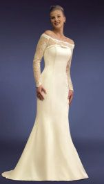 wedding dresses for second marriages | One of the top ten wedding day looks