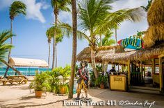 Iggie's restaurant, St. Thomas, USVI - mocko jumbies, kids play in sand while you eat? Info on this family-friendly dining in St Thomas at http://www.familytravel411.com/411-us-virgin-islands-with-kids-st-thomas-st-john/